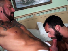 Hairy Hunk Gets His Tight Ass Barebacked