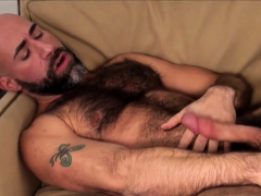 Hung men desperate patio plow