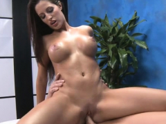 Pretty Brunette Kortney Kane Fucking A Male
