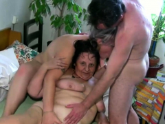 granny-loves-threesome