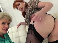 Lady Sonia and Red teasing and teaching you how to wank