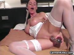 Bigtits Carmen Fornicate Her Awesome Part3