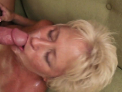 Busty Tracy needs a stiff shaft