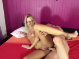 First Time Casting Fuck for Hot Blonde German MILF Jasmin