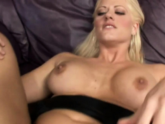 Striking Busty Blonde Mature Holly Heart Gets Body Caressed