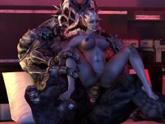 3D Monsters Overwatch Porn!