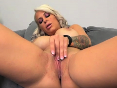 busty-alyssa-lynn-touching-and-fingering-her-shaved-pussy