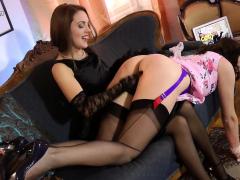 seductive-lesbian-milf-spanks-cute-18yo-babe