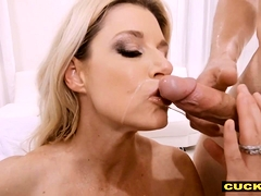 Cuck Watches Bigtitted Wifey Cheating On Him