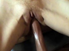 Creamy female cum
