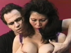 Hot-tempered minx is touching her wet fanny