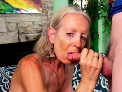 Granny Super Sexy Has Her Asshole Reamed