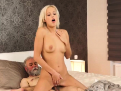 Teen old man Surprise your gf and she will pound with
