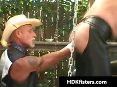 Gay Cowboys In Super Extreme Gay Fisting Part4