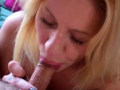 Amazing Blonde Enjoys Getting Dirty With Her Boyfriend