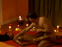 Wet Sticky Fingers Massage Her Sweet Indian Pussy