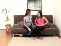 Big Tit Lesbian Teens Lick Sweet Ass