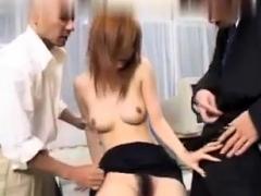 Teen blowjob threesome hardcore japanese