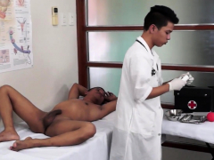 Asian patient gets dicksucked by kinky doctor