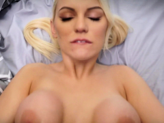 Busty blonde Kenzie Taylor gets fucked by her stepdad