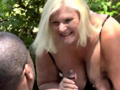 brit-granny-outdoors-gets-fingered