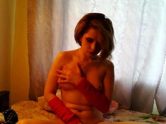 Busty Stepsister Uses A Dildo On Her Pussy