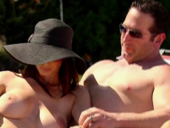 Horny And Sexy Swingers Are Sunbathing Naked Under The Sun!