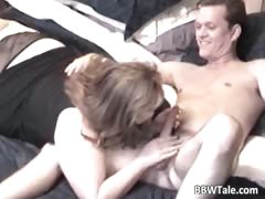 Chubby Milf Takes Some Cock Wildly Part3