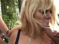 old-blonde-grandma-outdoor-threesome