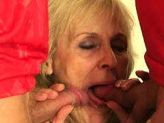 two-buddy-share-very-old-blonde-granny