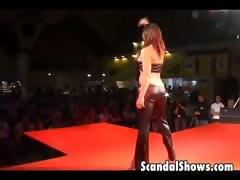 Gorgeous Redhead Dancing Slutty