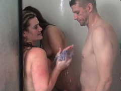 wet-amateur-babes-sharing-stiff-cock-in-shower-threesome