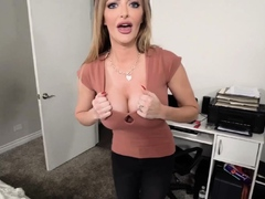 My busty stepmom would not let me go out on my date