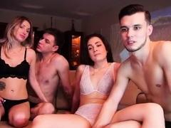 Blonde Milf Bbc Anal Group Sex