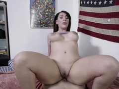Thicc Busty Latin Stepsis Sucks And Rides Stepbros Big Cock