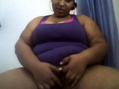 Black bbw amateur webcam