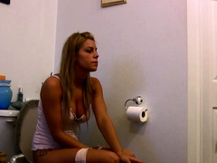 stepsister-caught-smoking-while-taking-a-piss