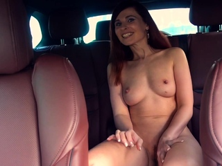 Jeny Smith was caught naked in a car twice
