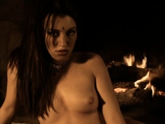 a-sexy-brunette-indian-seduction-moment-during-free-time