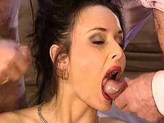 cumparty bukkake double penetration compilation Bukkake