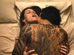 Alexandra Daddario big tits and ass in sex scenes