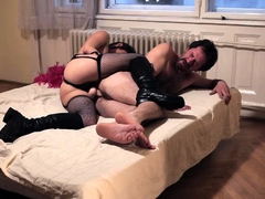 stockings-mistress-strapon-slams-fetish-ass-and-tugs-dick
