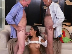 Old man young girl kitchen and randy spears daddy Going