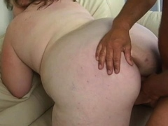 bulky awesome gal gets penetrated well
