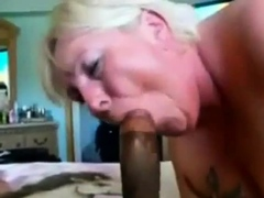 big granny sucks huge penis