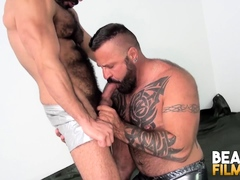 Bearfilms Big Bear Marc Angelo Gropes Stud Before Breeding