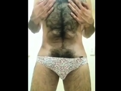 hairy-muscle-flexing-and-cum