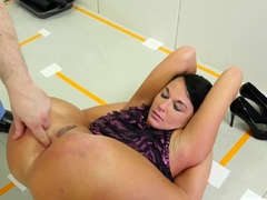 Girl solo extreme cumshot and punished first time Talent