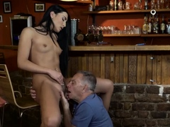 Old man spanking first time Can you trust your gf leaving