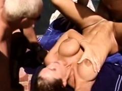 Swinger Hot Wife Outdoors Sex